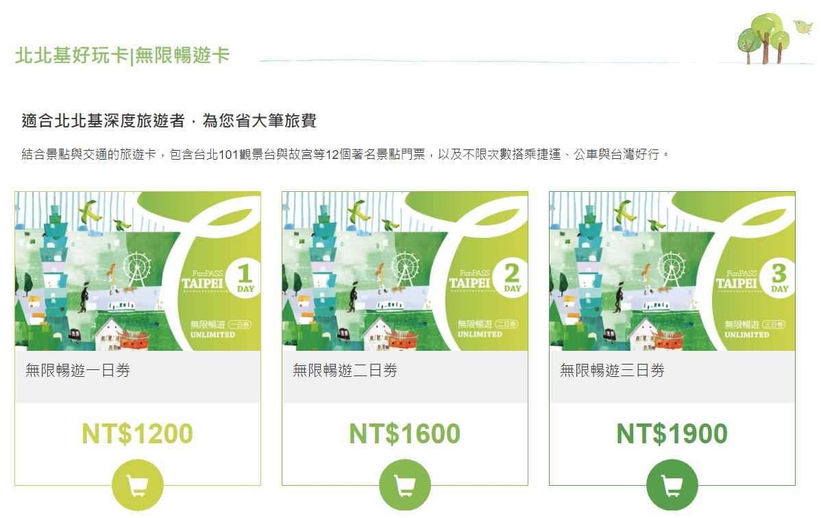 台北旅遊攻略不用再找啦!北北基好玩卡(Taipei Fun PASS)台北